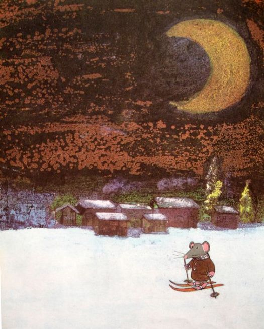 Trubloff The Mouse who wanted to play the Balalaika, written & illustrated by John Burningham, 1965