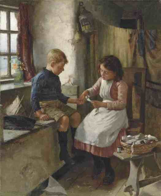 William Banks Fortescue - Medical Attention
