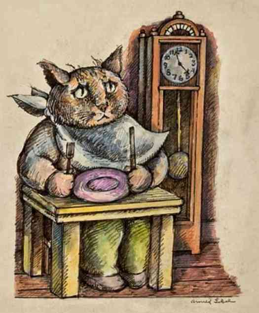 Arnold Lobel from Whiskers & Rhymes, published 1985