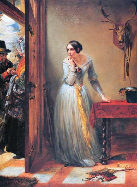 Charles West Cope - Palpitation 1884