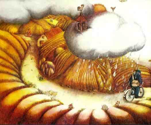DER REGENBOGEN (1972) Marie Sarraz rain