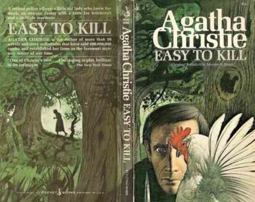 Easy to Kill by Agatha Christie illustrated by Tom Adams peephole