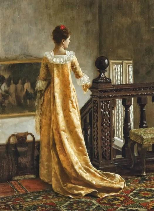 Edmund Blair Leighton - The Golden Train 1891
