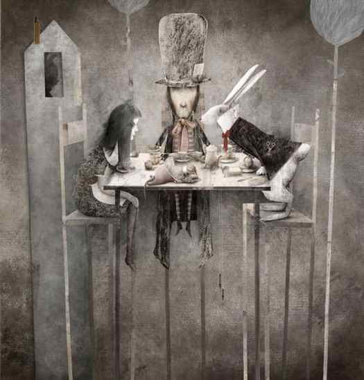 Gabriel Pacheco - Mexican artist & illustrator symmetry