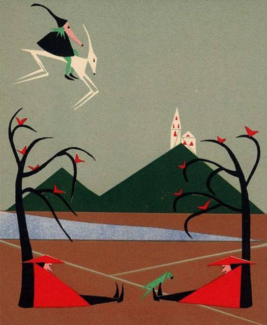 Hilde Kruger, Hurleburles Wolkenreise, Berlin 1926 symmetry