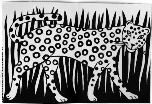 Joëlle Jolivet leopard