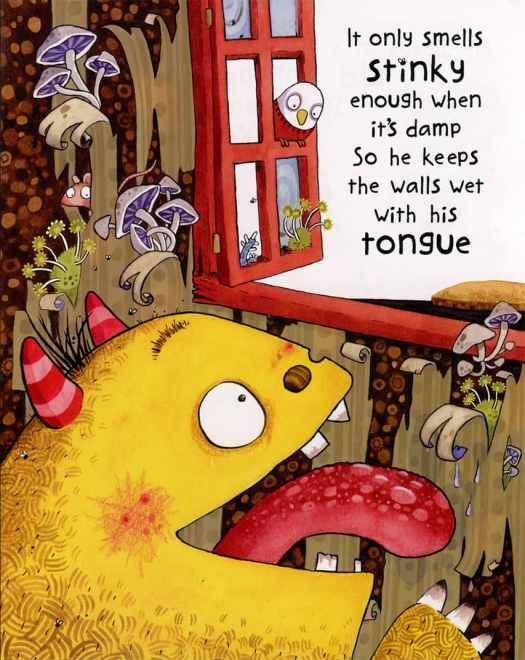 Morris the Mankiest Monster by Sarah McIntyre and Giles Andreae