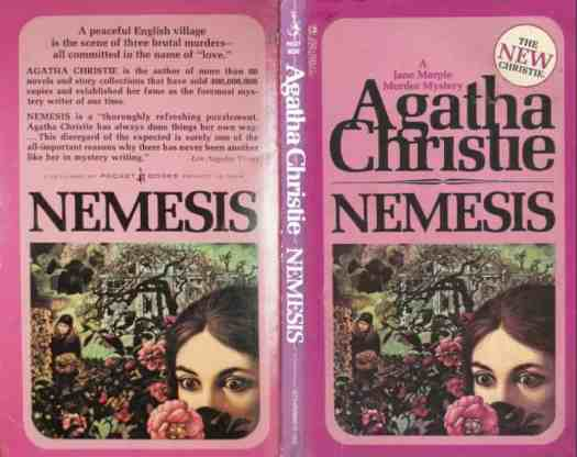 Nemesis by Agatha Christie cover illustration by Tom Adams