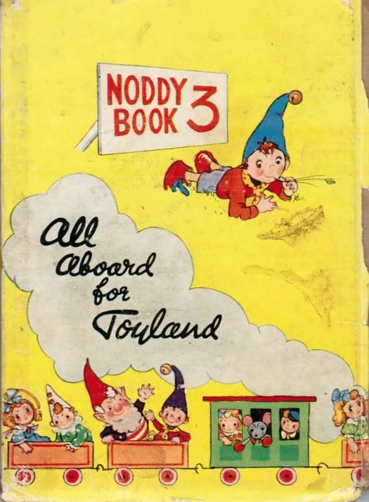 Noddy Book 3 illustrated by by Harmsen van der Beek