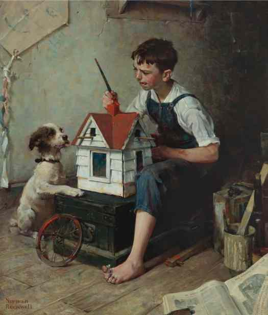 Norman Rockwell (American painter and illustrator) 1894 - 1978