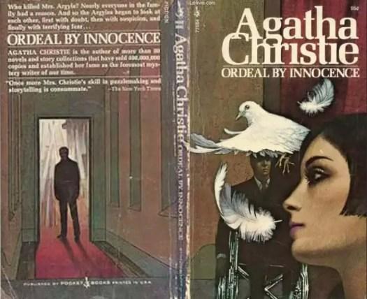 Ordeal by Innocence by Agatha Christie illustration by Tom Adams corridor