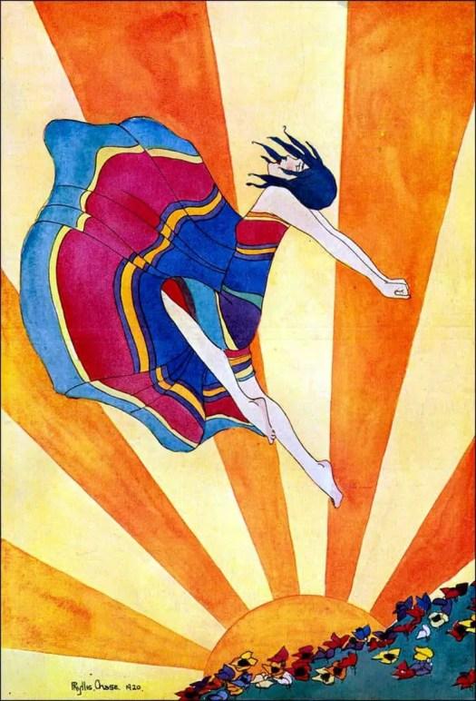 Phyllis Chase. 1920