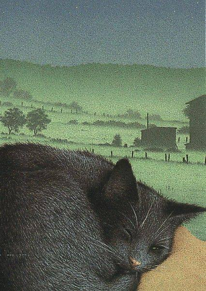 Quint Buchholz (German artist-Illustrator) cat