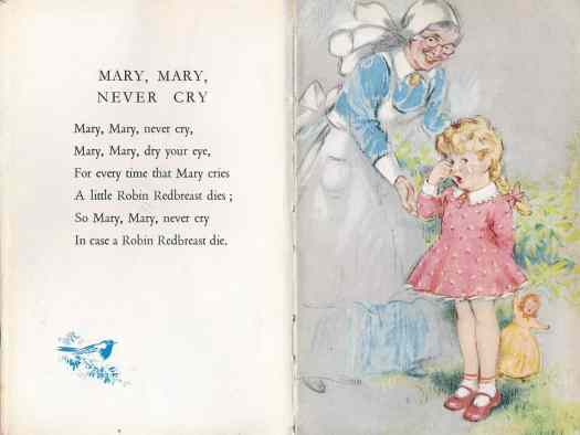 The Ladybird Book Of Bedtime Stories Geoffrey Lapage, Illustrations George Brook (Wills & Hepworth Ltd., Loughborough UK, 9th edition 1950)  fake crying