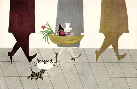 WOELEWIPPIE ONDERWEG (1960) Fiep Westendorp cat