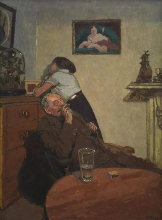 Walter Richard Sickert Ennui c.1914