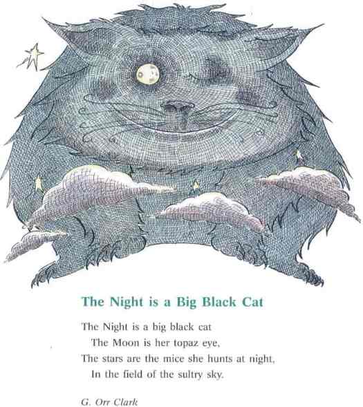 Welcome Night Poems chosen by Richard Brown and Kate Ruttle, Illustrated By Nick Maland (published by Cambridge University Press, 1996