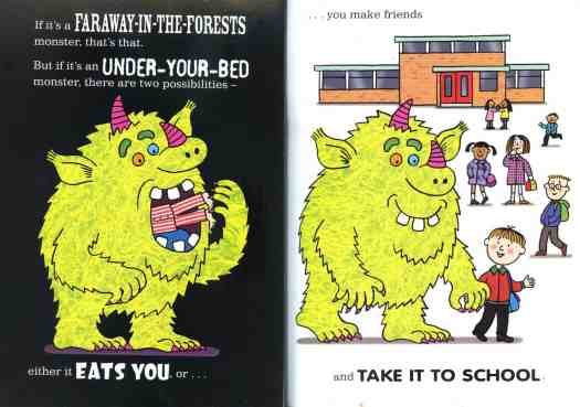When a Monster is Born Nick Sharratt, Sean Taylor what it does