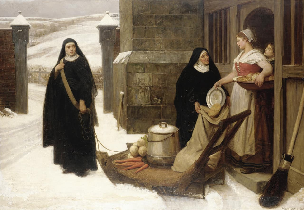 William Frederick Yeames - For the Poor