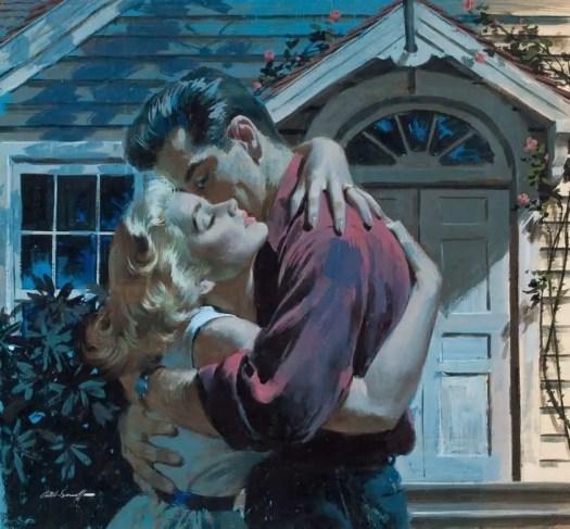 Arthur Sarnoff (American, 1912-2000) The Man Who Had No Heart 1953