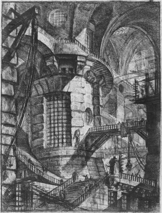 Giovanni Battista Piranesi 'The Round Tower'