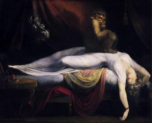 "Henry Fuseli, ""The Nightmare"""
