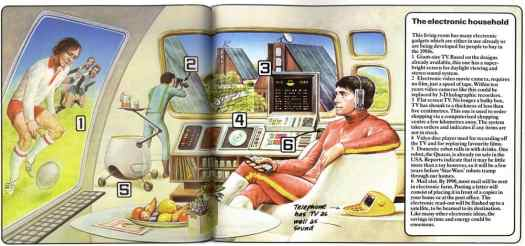 World of the Future Future Cities. Usborne Books, 1979 screens