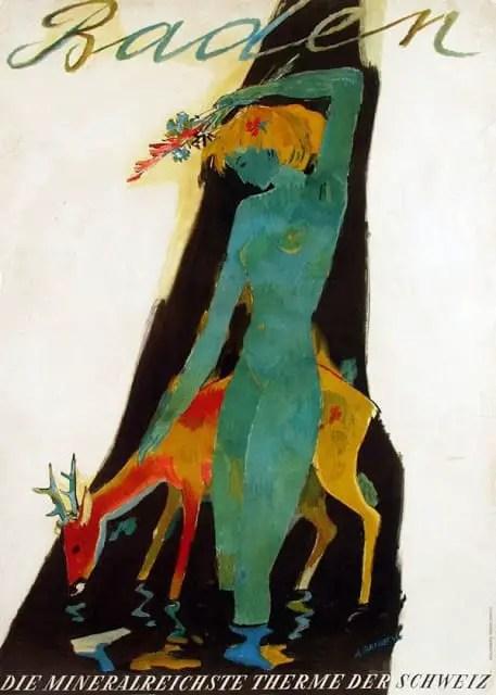Alois Carigiet deer 1943