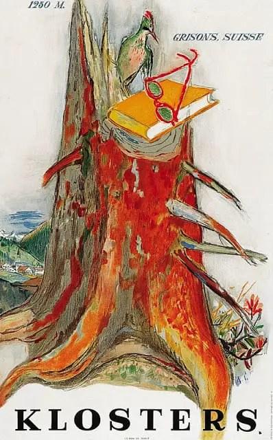 Alois Carigiet tree trunk 1947