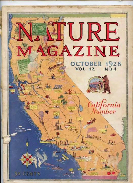 California Map 1928