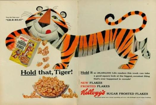 Martin Provensen, an illustrator of children's books, created the design for Tony the Tiger for Kelloggs