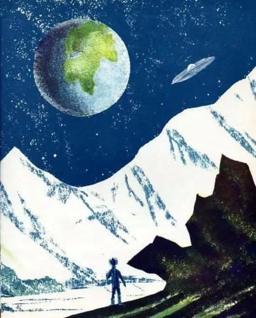 When I Go to the Moon, 1961, Leonard Weisgard; 1916-2000