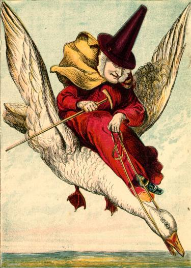 1871 illustration by Joseph Martin Kronheim for Mother Goose from My First Picture Book