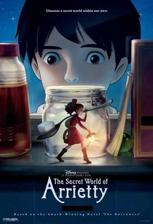 Arrietty Japanese movie poster
