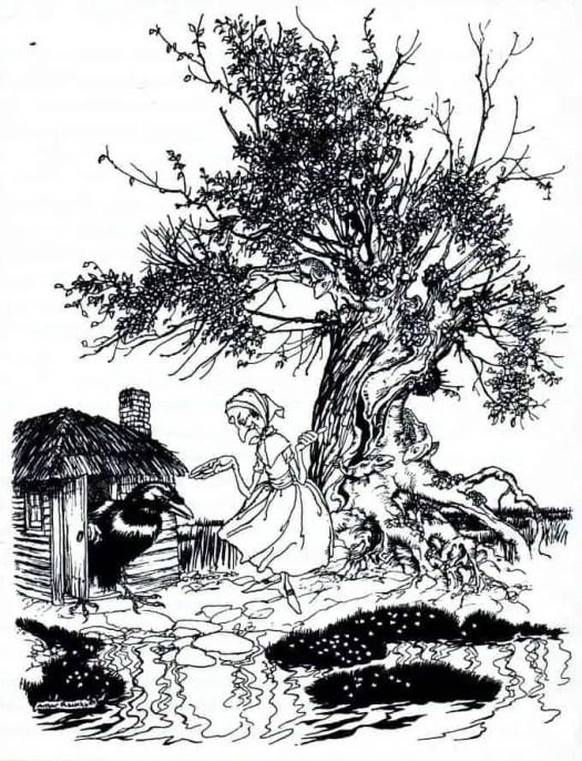 Arthur Rackham Magic Hill