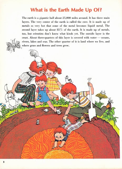 Easy Answers to Hard Questions pictures by Susan Perl text by Susanne Kirtland (1968) cosy little world