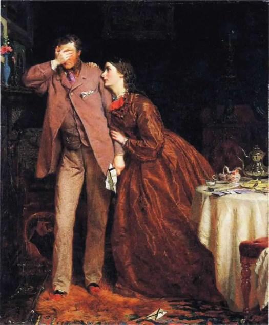 George Elgar Hicks - Woman's Mission - Companion of Manhood