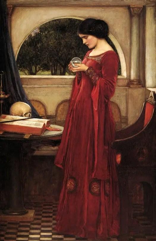 John William Waterhouse, The Crystal Ball, 1902