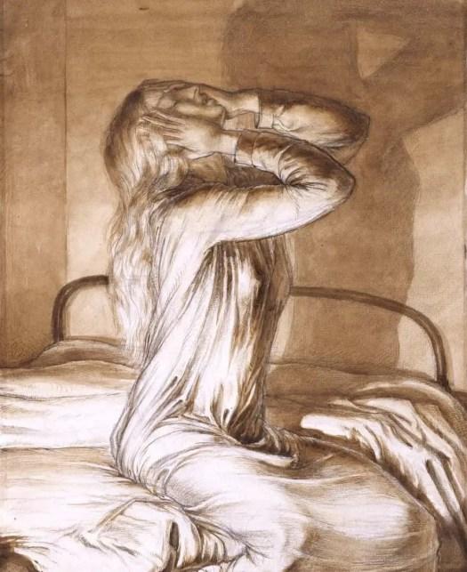 Maxwell Gordon Lightfoot Study of a Girl c.1910