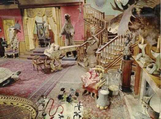 Addams family set from the old black and white show