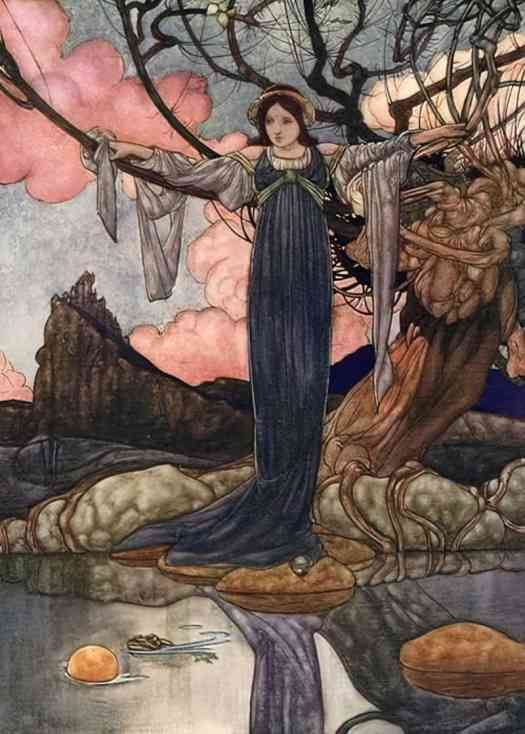 Charles Robinson The Great Book of Fairy Tales 1911 'The Frog Prince'