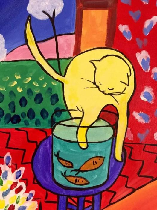 Henri Matisse Cat and Redfish