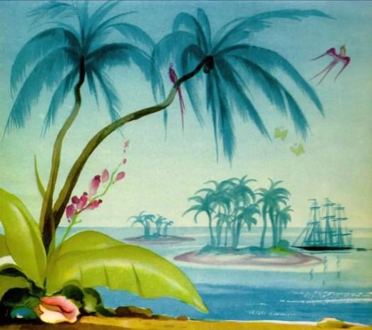 LE RÊVE DE JEAN-FRANÇOIS (1943) Jean A. Mercier island