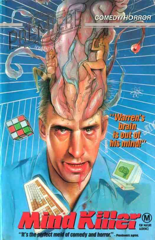 Mind Killer 1987. Brains on the outside of a head are so very gruesome that they more often fall into comedy horror territory.