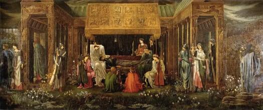 Pre-Raphaelite painter Edward Burne-Jones