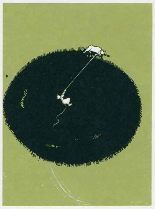 Raoul Chareun (Cagliari, 1889 – Milan, 1949) The pastoralism, L'Agricoltura Italiana illustrata, Milan, 1918 crop circle