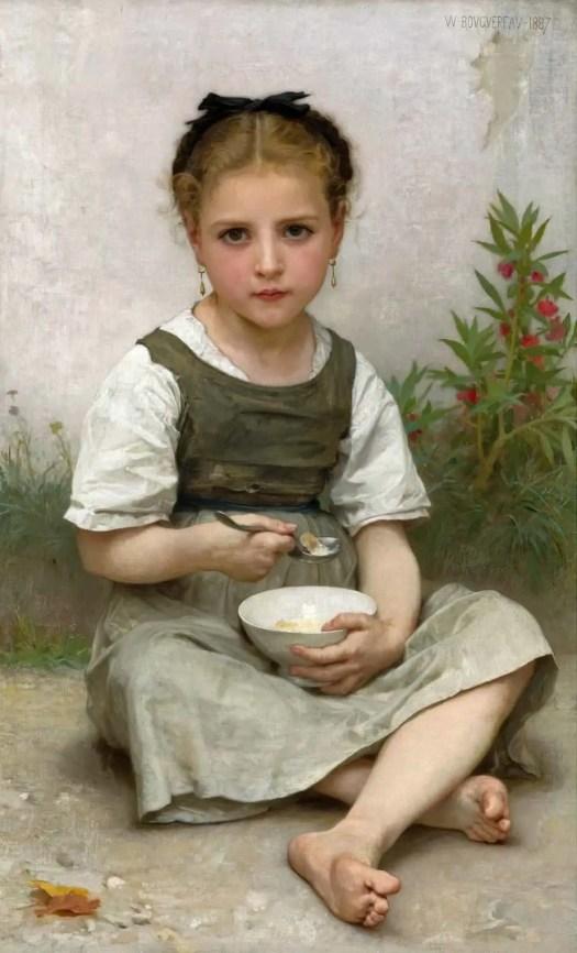 William Bouguereau - Breakfast 1887