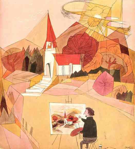 by Oscar Cahén 1951