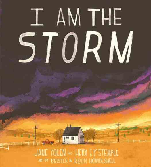 I Am The Storm by Jane Yolen and Heidi EY Stemple art by Kristen and Kevin Howdeshell