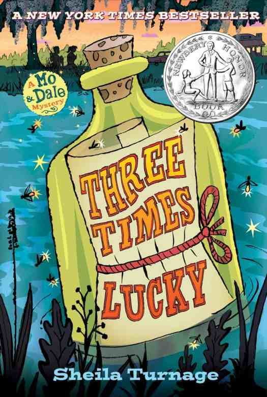 Three Times Lucky by Sheila Turnage cover by Gilbert Ford